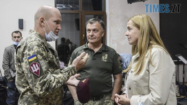 NSV 3922 777x437 - У Житомирі мають бути створені комунальні школи безпеки для дітей – Людмила Зубко на зустрічі з військовими