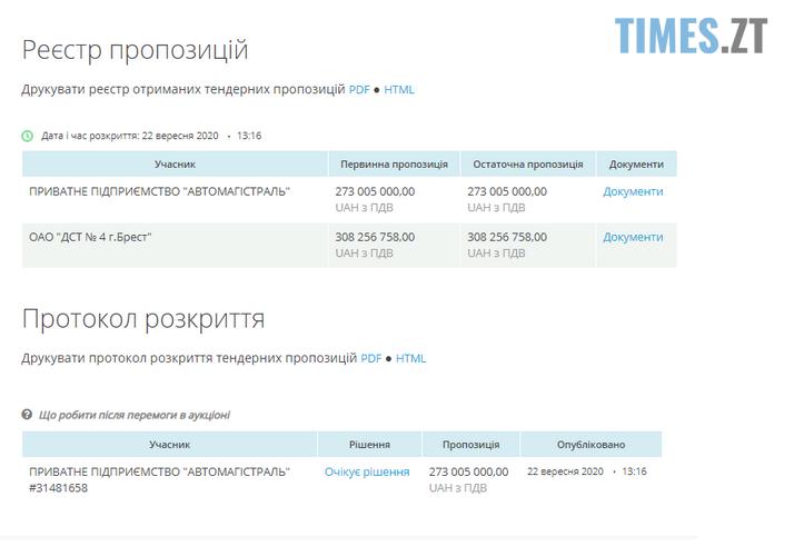 Screenshot 11 - Під Бердичевом може з`явитися нова транспортна розв`язка за 300 млн грн