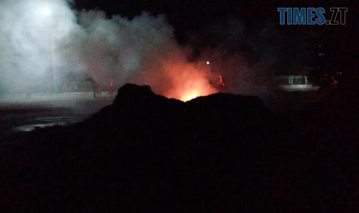 Screenshot 4 3 737x437 - У Баранівці невідомі підпалили декоративну фотозону з сіна, яку підготували до Дня міста (ФОТО)