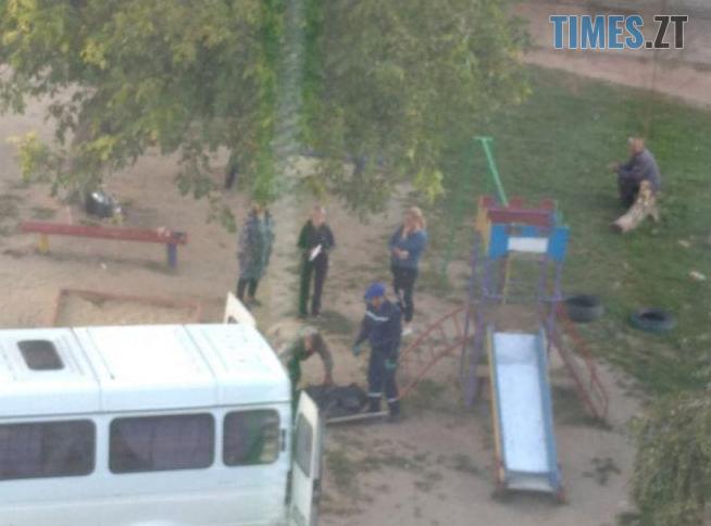 Screenshot 5 9 - Труп людини знайшли на одному з дитячих майданчиків у Житомирі (ФОТО)
