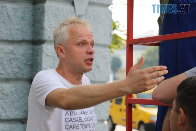 img1599047080 9 e1599054668704 - На Михайлівській проходили зйомки відеоролику «Мій Житомир — головна сцена мого життя» (ФОТО)