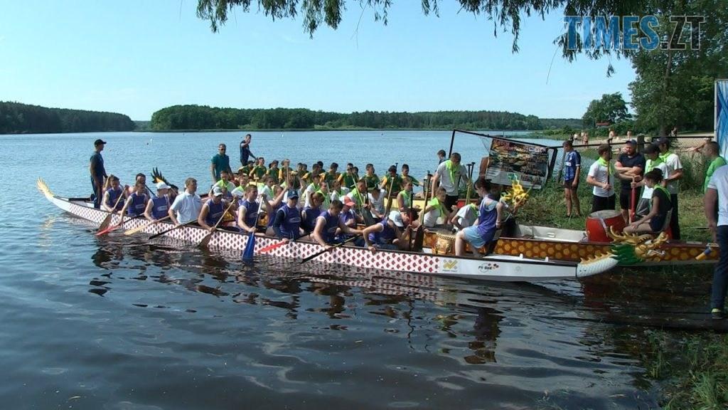 maxresdefault 1024x576 - У Житомирі відбудуться змагання з веслування на човнах «Дракон»