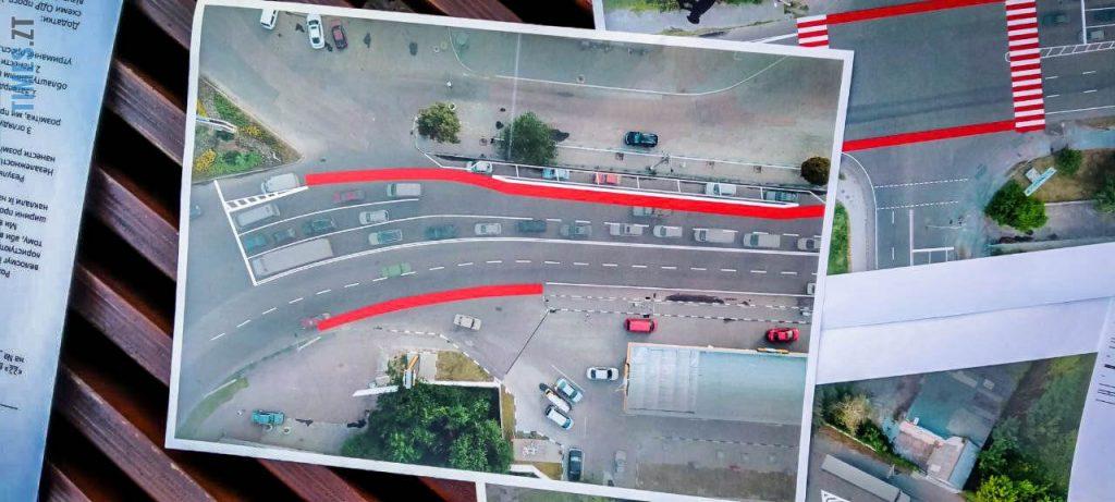 photo5426966241542778738 e1600762768982 1024x461 - «Обіцяного чекають 3 роки?»: поки міська влада бездіє, житомиряни самотужки підготували план розмітки для велосипедистів (ФОТО)