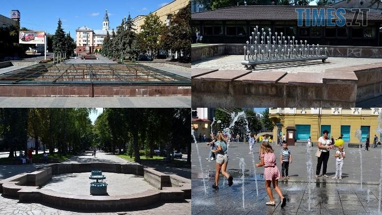 preview 4 - «День житомирянина»: у місті працює лише один фонтан – там, де має «засвітитись» Сухомлин (ФОТО)