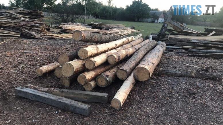 pylorama 1 777x437 - На Житомирщині викрили пилораму з незаконною деревиною