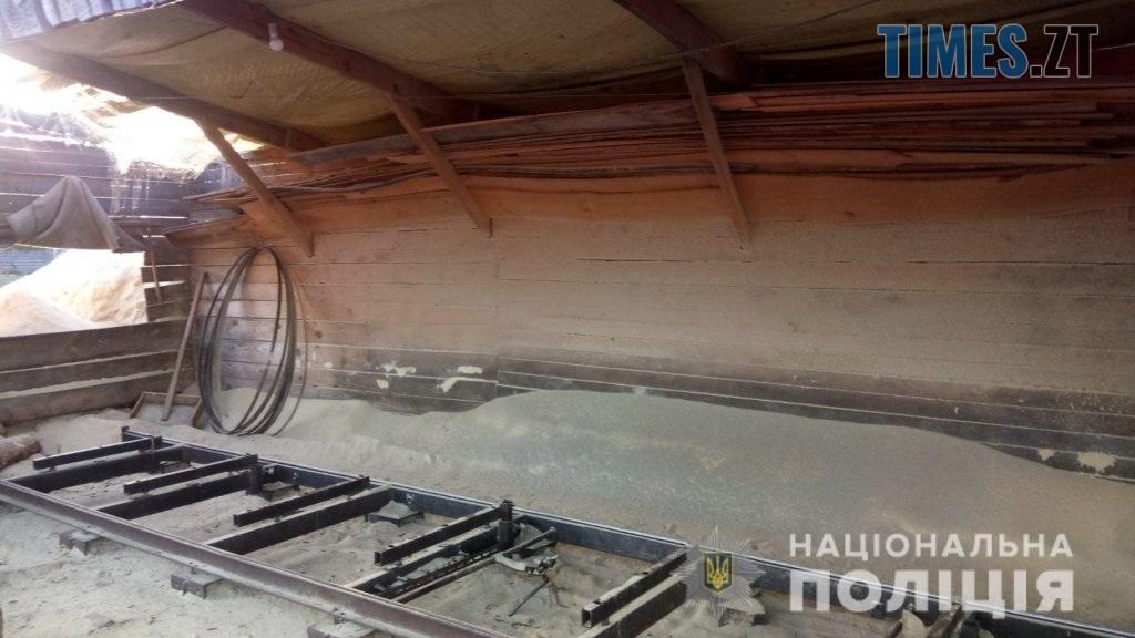 pylorama 8 1024x576 - На Житомирщині викрили пилораму з незаконною деревиною