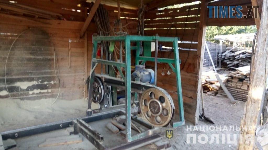 pylorama 9 1024x576 - На Житомирщині викрили пилораму з незаконною деревиною