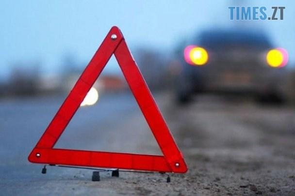 znak 23a44 - У Житомирі розшукують автомобіль, водій якого збив на Корбутівці дівчину і втік з місця аварії