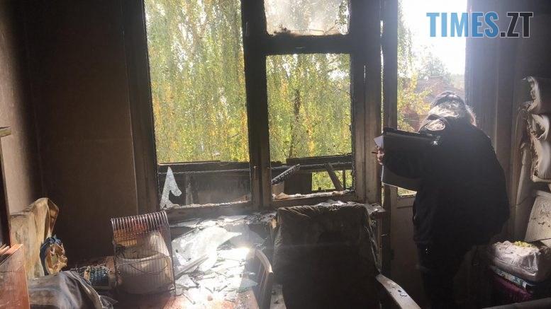 02 2 777x437 - У Житомирській багатоповерхівці сталася пожежа, горів балкон на п`ятому поверсі