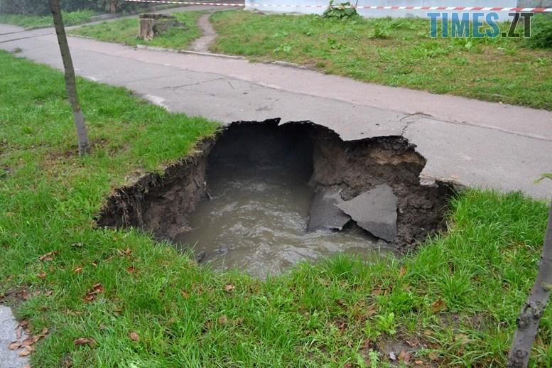 02 6 - Олександр Павленко: «На Гагаріна екологічна катастрофа, третина міської каналізації тече в землю!»