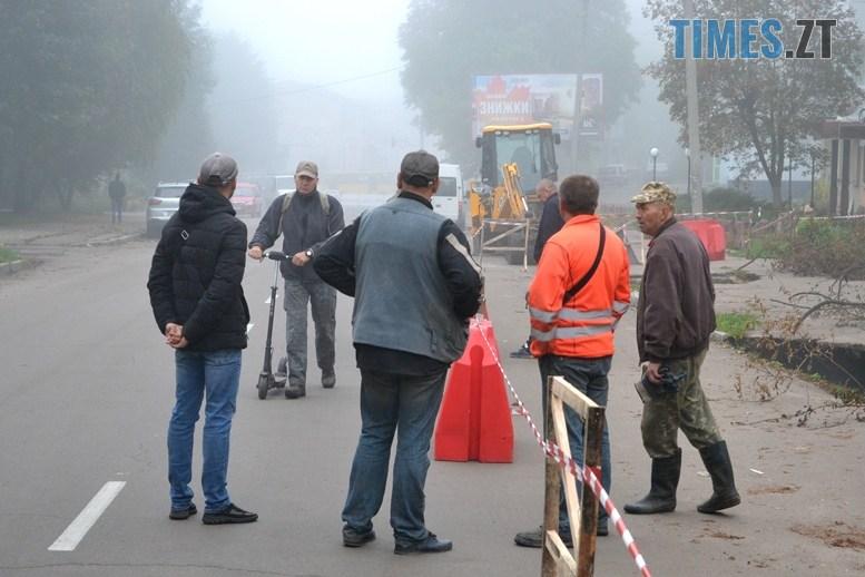 03 3 - Олександр Павленко: «На Гагаріна екологічна катастрофа, третина міської каналізації тече в землю!»