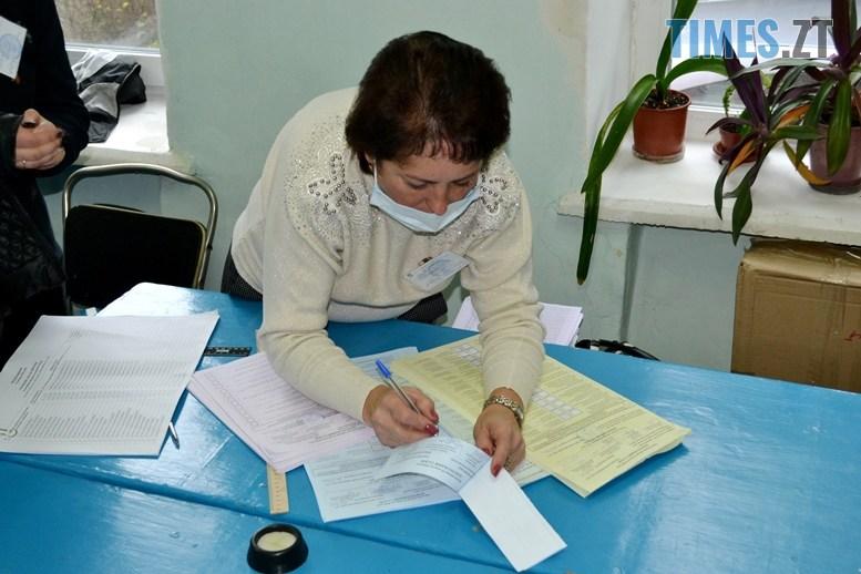 03 8 - Житомирська влада зриває вибори: ДВК змайструвала кабінки для голосування з парт (ВІДЕО)
