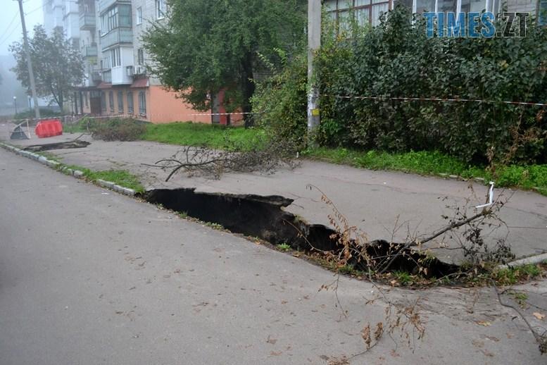 04 4 - Олександр Павленко: «На Гагаріна екологічна катастрофа, третина міської каналізації тече в землю!»