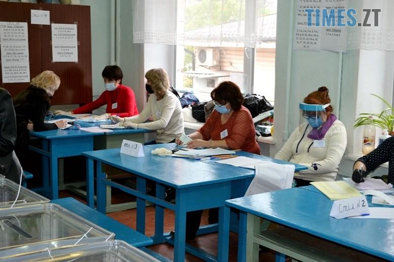 07 6 - Житомирська влада зриває вибори: ДВК змайструвала кабінки для голосування з парт (ВІДЕО)