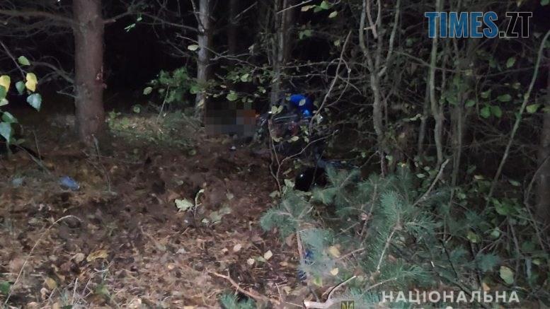 09 19 53 777x437 - На Коростенщині водій мотоцикла протаранив дерево і потрапив до лікарні, пасажир загинув миттєво  (ФОТО)