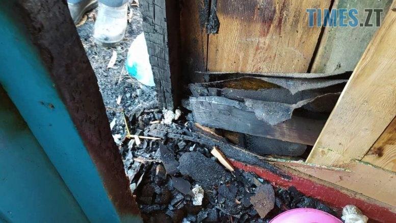 10 2 777x437 - На Житомирщині бійці ДСНС ліквідували пожежу на веранді та врятували від знищення вогнем житловий будинок