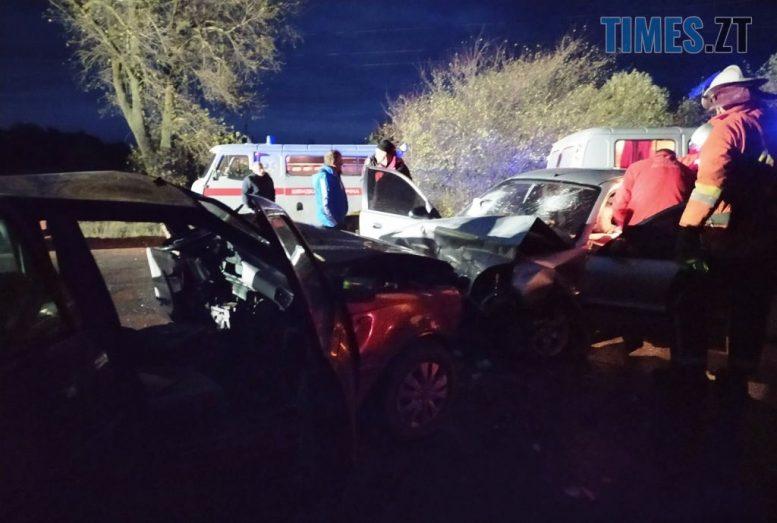 111 e1603108870209 - На трасі в Житомирській області зіштовхнулися Daewoo і Dacia, травмовано шестеро людей (ФОТО)