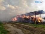2 1 150x113 - У Любарському районі надзвичайники  ліквідували загоряння сінника та врятували від знищення корівник (ФОТО)