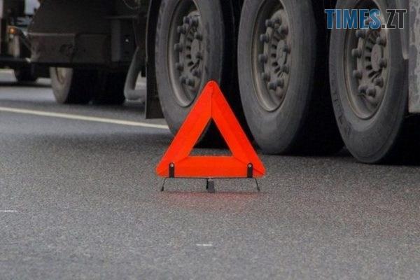 26112018 dtp - На трасі в Житомирській області у ДТП потрапили дві вантажівки (ВІДЕО)