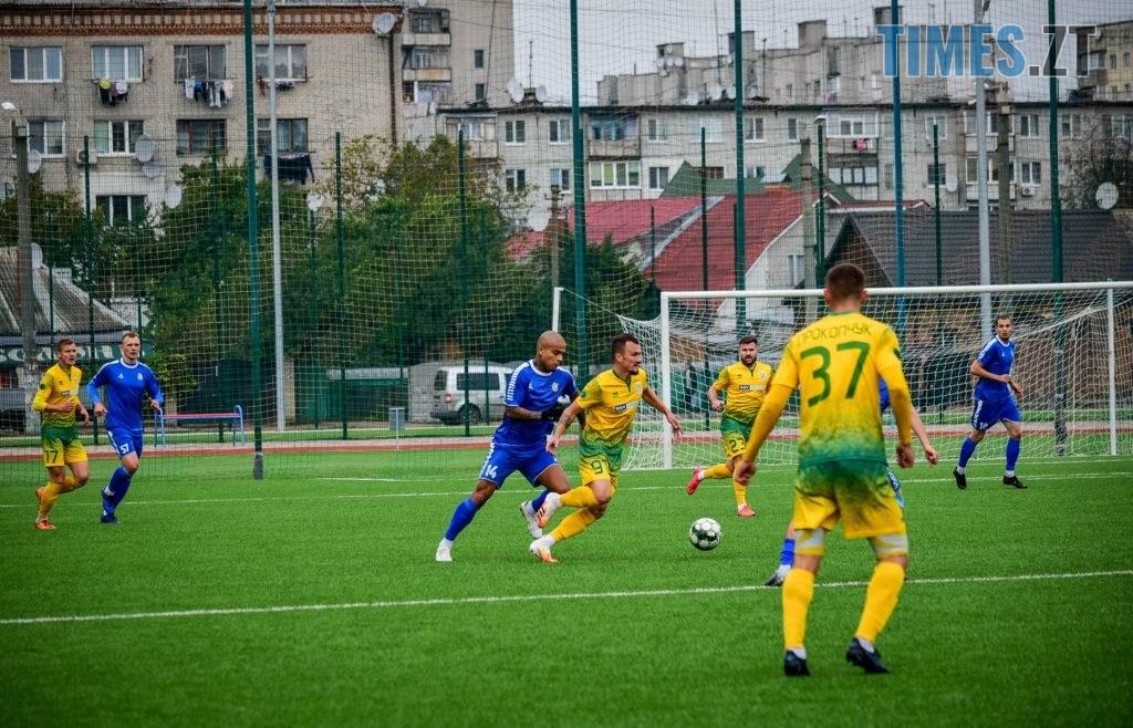 DSC 0656 1024x658 - «Рідні стіни допомогли»: житомирський ФК «Полісся» переміг МФК «Кремінь» (ФОТО)