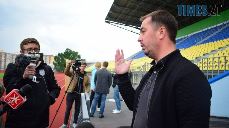 DSC 0767 777x437 - «Ми готові»: керівник житомирського ФК «Полісся» кинув виклик Віталію Бунечку