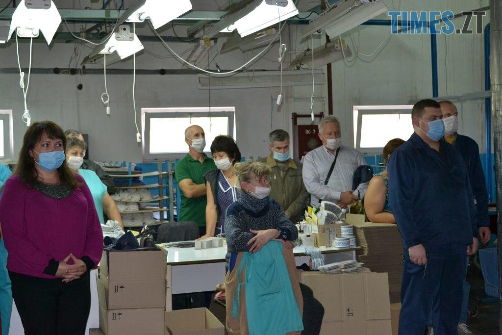 DSC 0942 1024x683 - Кандидат на міського голову Житомира Віктор Євдокимов зустрівся з працівниками панчішної фабрики