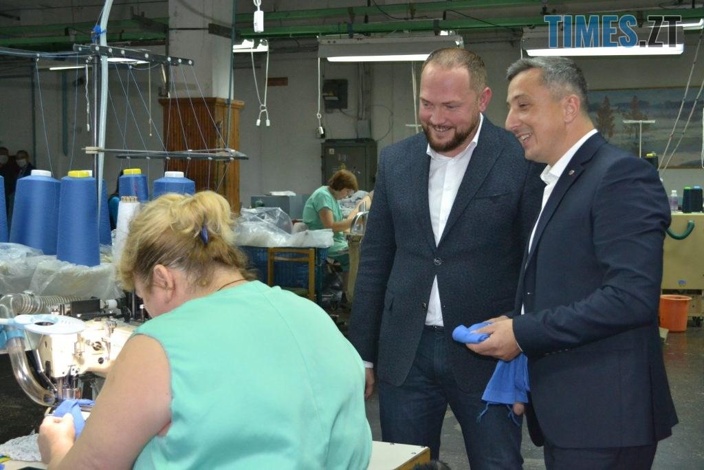 DSC 1016 1024x683 - Кандидат на міського голову Житомира Віктор Євдокимов зустрівся з працівниками панчішної фабрики