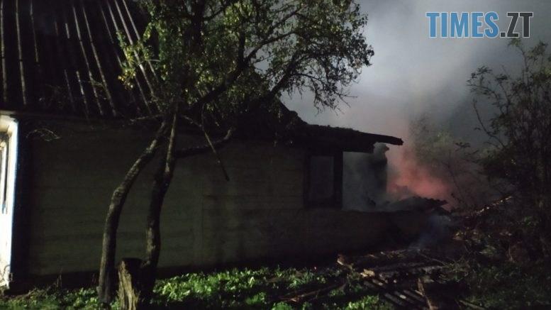 IMG 0927 777x437 - На Черняхівщині ледь не згоріла заживо господиня приватного будинку (ФОТО)