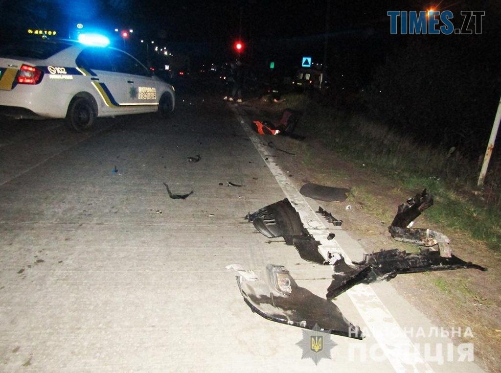 IMG 0974  1024x762 - На Житомирщині позашляховик протаранив поштовий автомобіль, є травмовані (ФОТО)