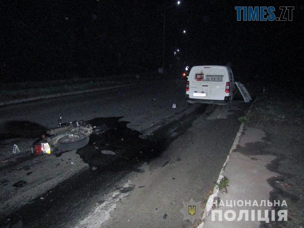 IMG 4103  1024x768 - У райцентрі Житомирщини пілот мотоцикла допустив лобове зіткнення з авто, загинули двоє людей (ФОТО)