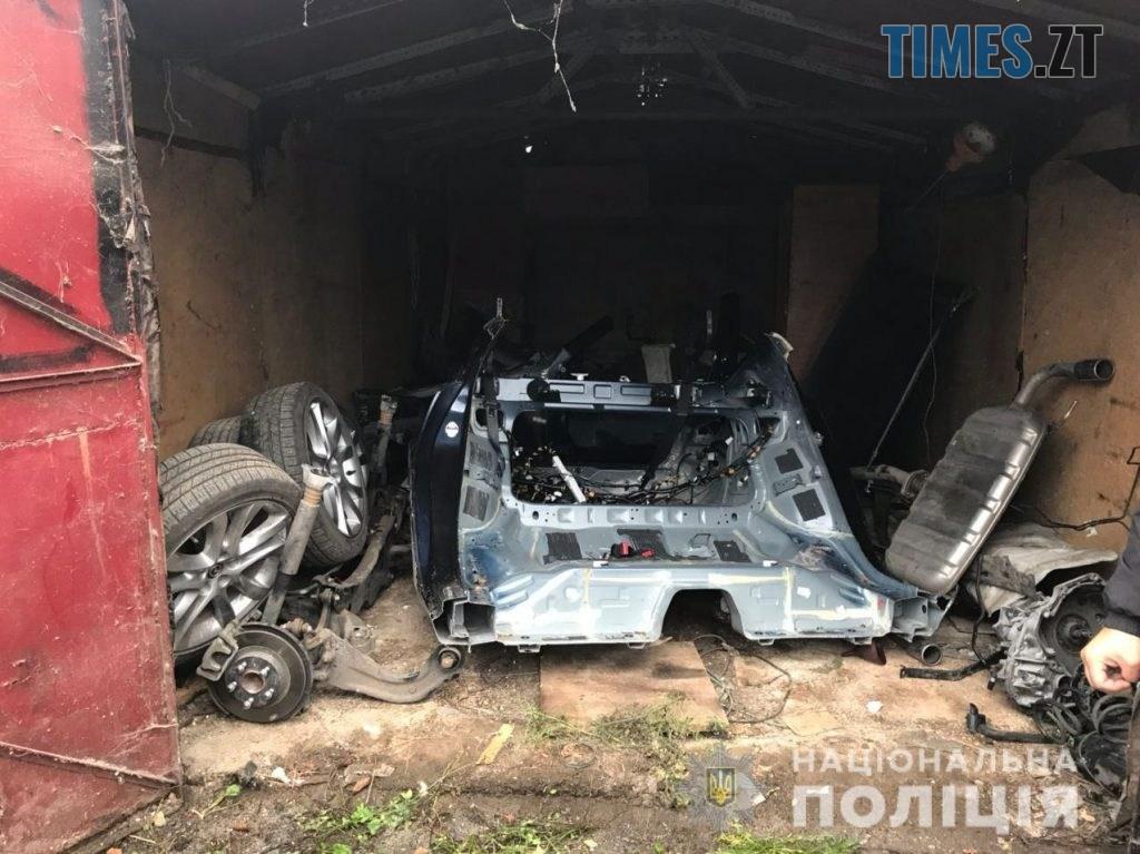 ZavolodinniaZHytomyr2 1024x767 - Столичні правоохоронці перекрили канал викрадення автівок, які розукомплектовували на Житомирщині (ФОТО)