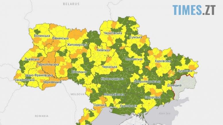 """img1601628456 777x437 - Сім районів Житомирщини потрапили до """"помаранчевої"""" карантинної зони, обласний центр -  у """"жовтій"""""""