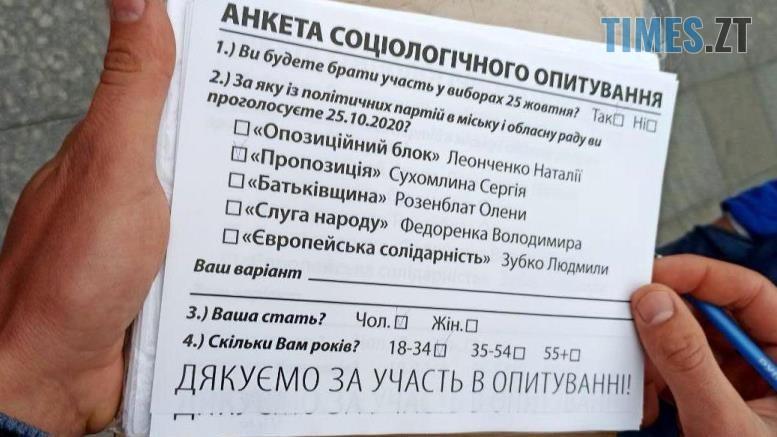 preview 1 - Руслан Годований і «Пропозиція» проводять у Житомирі «опитування» з брехливою анкетою (ФОТО)