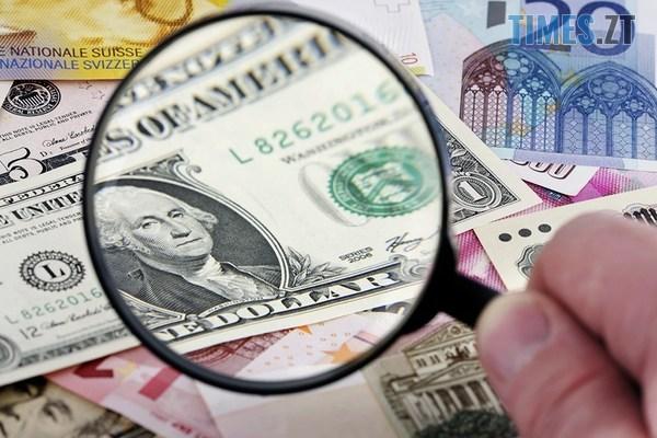 us dollar magnifying glass currency - Паливні ціни на заправках у Житомирській області та курс валют 5 жовтня