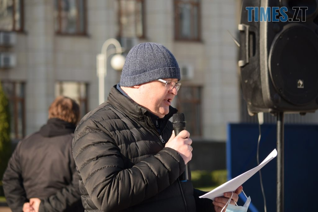DSC 1428 1024x684 - «Ми не COVID-19»: у Житомирі власники та працівники закладів харчування бунтують проти «вихідного дня» (ФОТО-ВІДЕО)