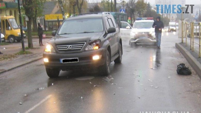 """IMG 2462  777x437 - У Бердичеві водій на """"Лексусі"""" збив пішохода, постраждалий в лікарні (ФОТО)"""