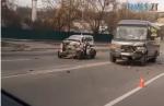 Screenshot 3 13 150x97 - На Бердичівському мосту в Житомирі легковик зіштовхнувся з маршруткою (ФОТО)