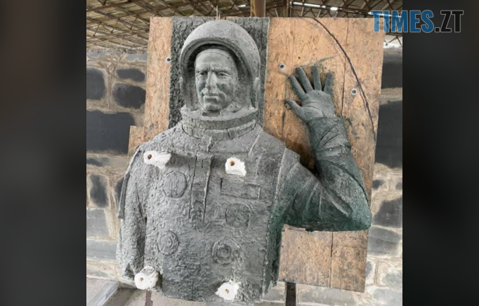 Screenshot 3 8 682x437 - Житомирські каменярі виготовили пам`ятник першому космонавту незалежної України Леоніду Каденюку (ФОТО)