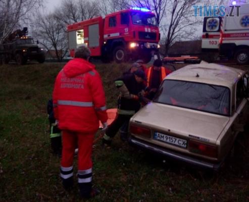 Screenshot 5 7 - У Чуднівському районі надзвичайники допомогли водію, що потрапив у ДТП