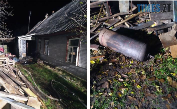 Screenshot 6 1 - У райцентрі Житомирщини під час пожежі в будинку надзвичайники врятували чоловіка
