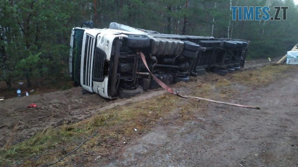 002 1024x576 - В Овруцькому районі надзвичайники надали допомогу водієві вантажівки (ФОТО)