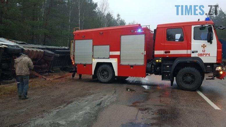 003 777x437 - В Овруцькому районі надзвичайники надали допомогу водієві вантажівки (ФОТО)