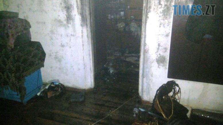 1 5 777x437 - У Бердичеві горіла квартира, розташована в житловому будинку