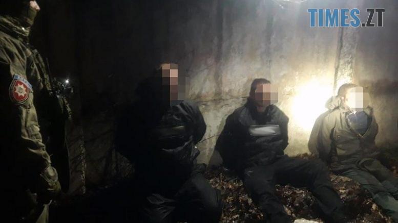 181220 5 777x437 - Під столицею затримали групу злочинців з Житомирщини (ВІДЕО)