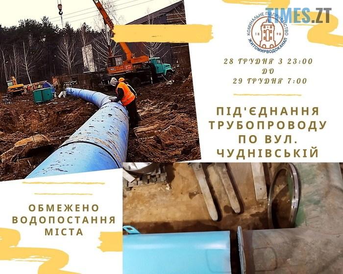 """5fe9ce2491148 original w859 h569 - У КП """"Житомирводоканалі"""" повідомили про обмеження водопостачання до ранку"""