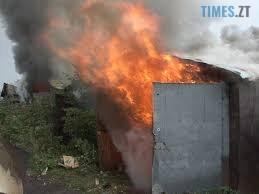 Bez nazvanyia 1 9 - У Житомирі ліквідували пожежу в приватному двоповерховому гаражі