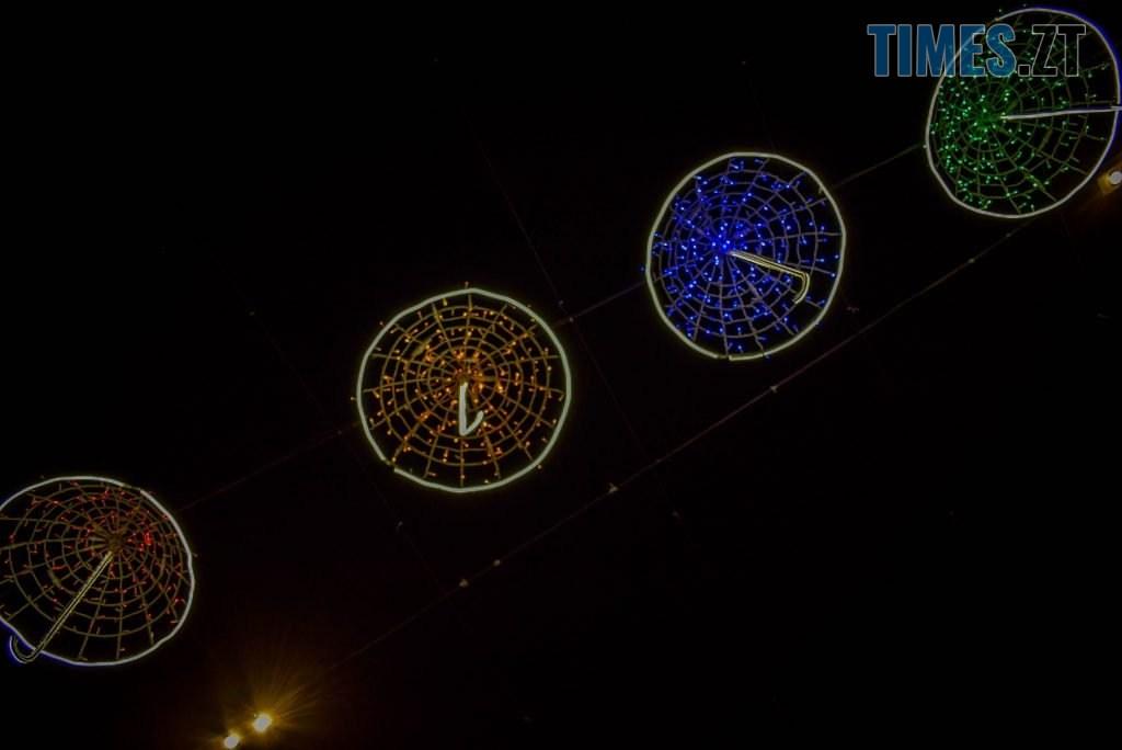 DSC 0366 1024x684 - Житомир засяяв новорічними парасолями за 192 тисячі грн (ФОТО)