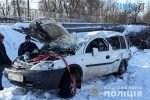 09 51 50 150x100 - На Житомирщині через ДТП Opel Combo перекинувся з мосту