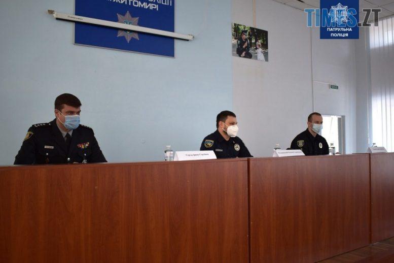139617642 2815468168721699 8951263887837958343 o e1610968278852 - У патрульній поліції Житомирської області нове керівництво
