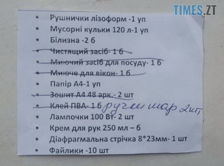 60000b6109c1b original w859 h569 - У Житомирській обласній лікарні пацієнтів змушують купувати канцелярію - головний лікар заперечує